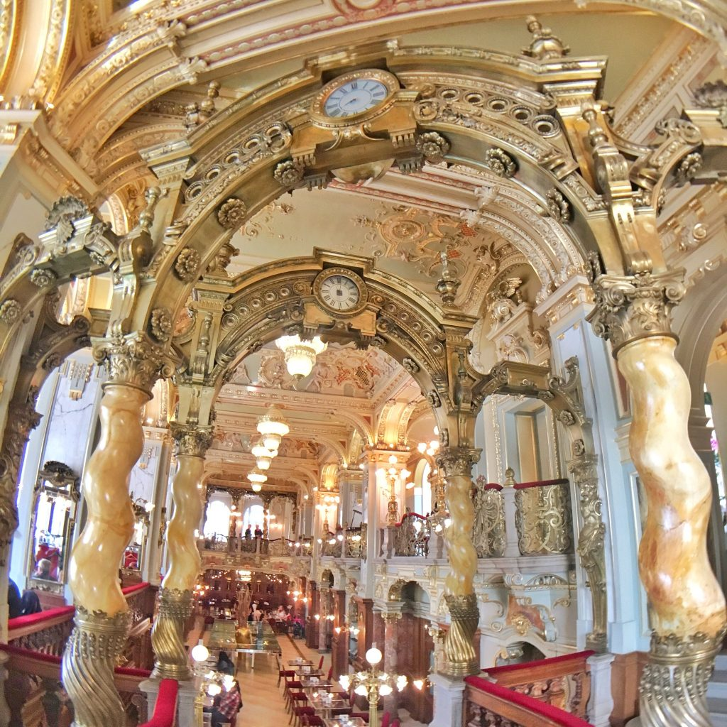 The Most Beautiful Café In The World: New York Café, Budapest