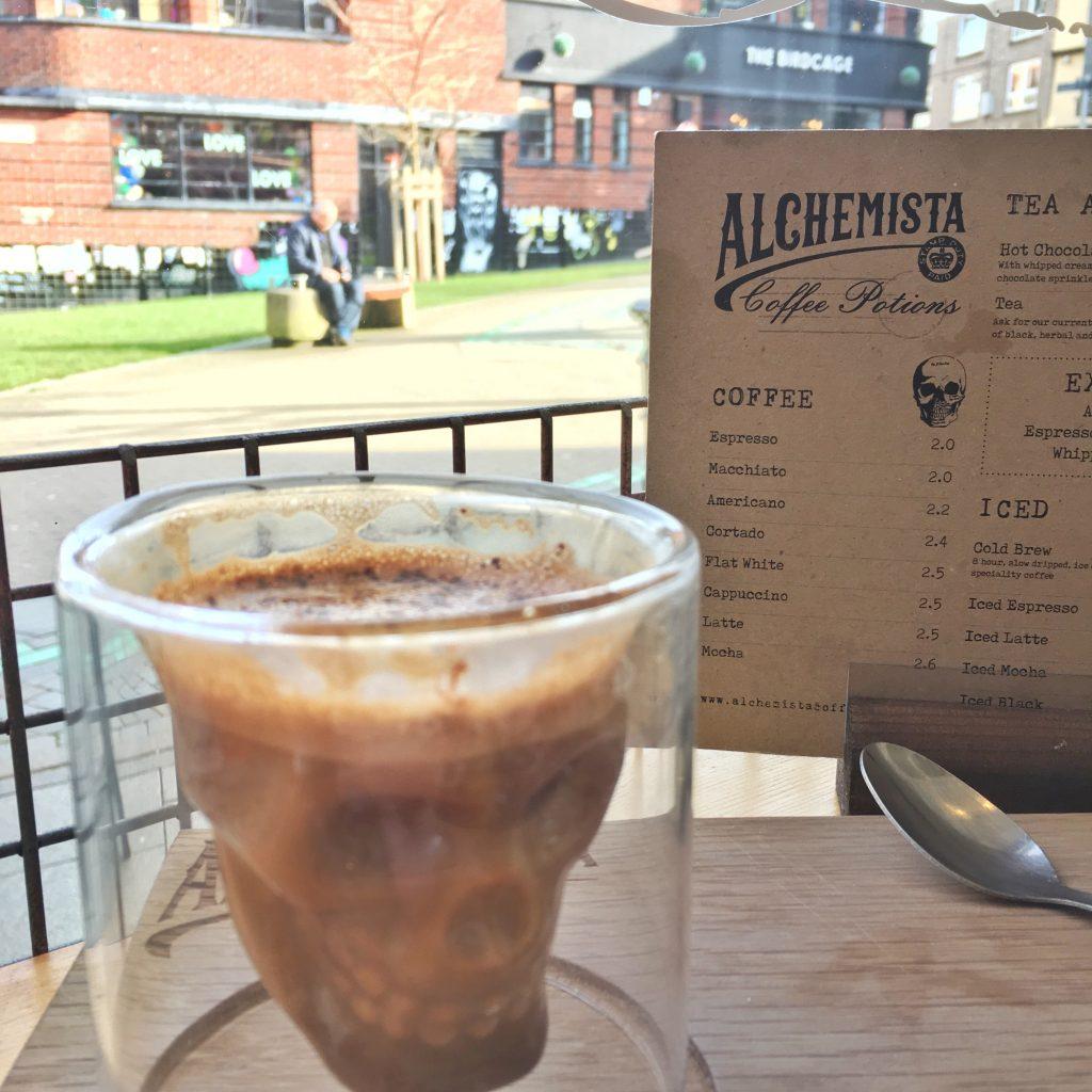 Review: Alchemista Coffee Potions, Norwich