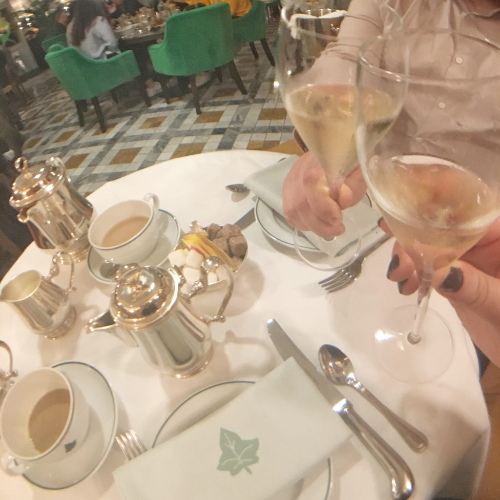 Review: Afternoon Tea At The Ivy Brasserie, Cambridge